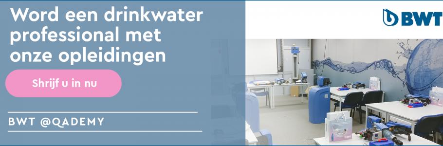 opleidingen drinkwater professional bwt
